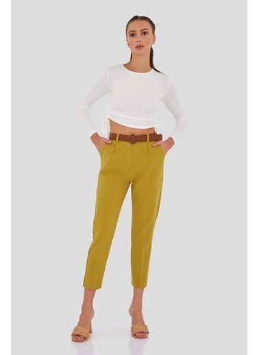 Modaset Jean Pantolon Yeşil